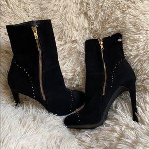 Express bootie heels, worn once!